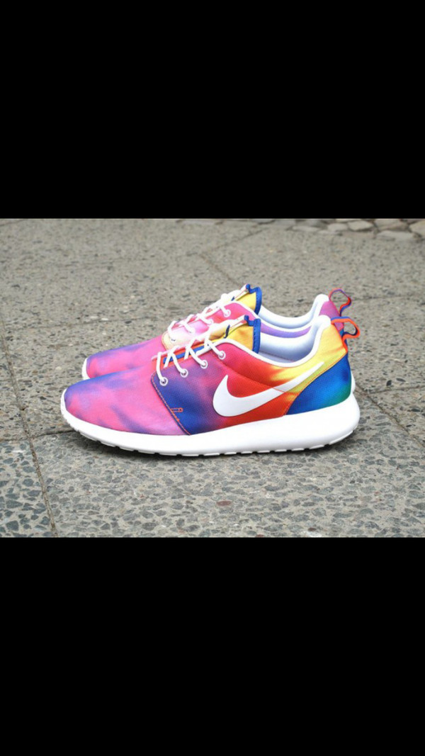 shoes tie dye nike nike roshe run nike roshe run