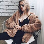 coat,teddy bear coat,teddy bear jacket,trendy coat,trendy jacket,comfy coat,comfy jacket,outfit idea,outfit inspo,womens wear,zefinka,stylish,chic coat,cozy coat