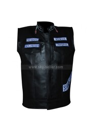 jacket,jax teller,mens,biker,motorcycle,vest,sons of anarchy