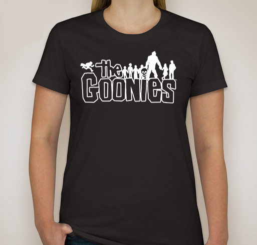 T48 Custom Women TShirt The Goonies Movie - T-Shirts & Tank Tops
