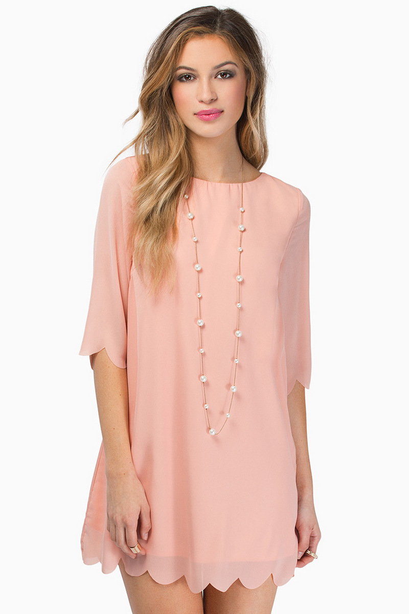 Ever So Scalloply Dress $58