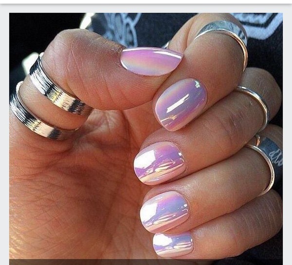 Crystal Chrome Nails: Amazon.com : Sally Hansen Chrome Nail Polish