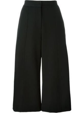 pants black pants clothes culottes