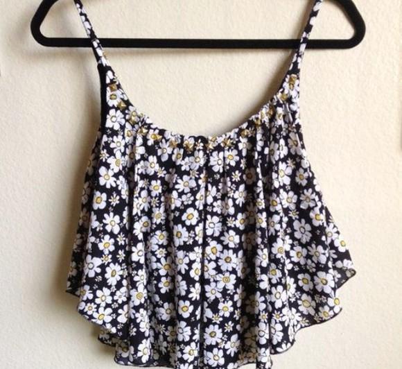 daisy top daisy vest vest
