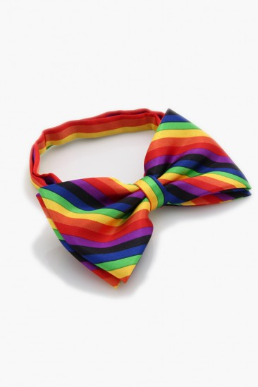 LoveMelrose.com From Harry & Molly | Multicolor Bow Tie