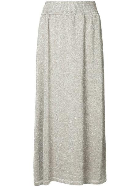 Estnation skirt maxi women brown