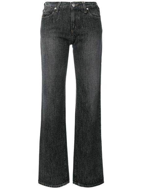 ARMANI JEANS jeans straight jeans women cotton grey