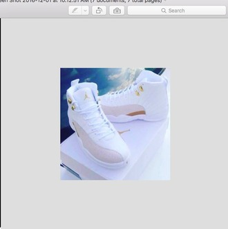 shoes light grey nike box white white sneakers gold nike nike shoes jordans basketball basketball shoes women menswear mens shoes women shoes white shoes grey tie front tie