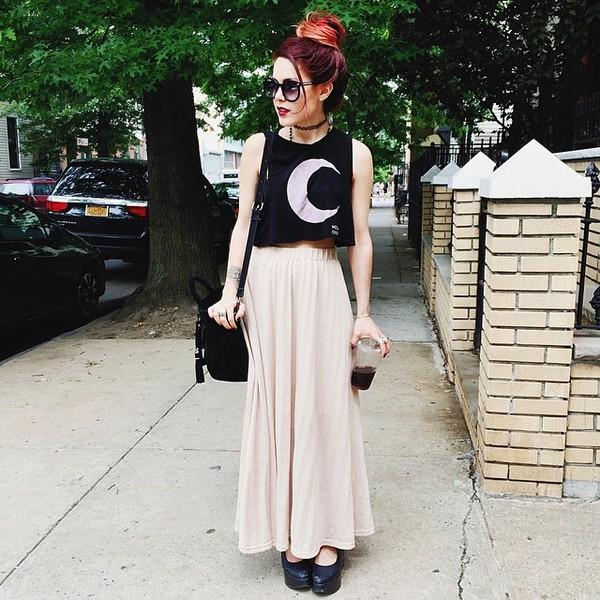 skirt lightpink style swag cool girl style grunge hipster shirt