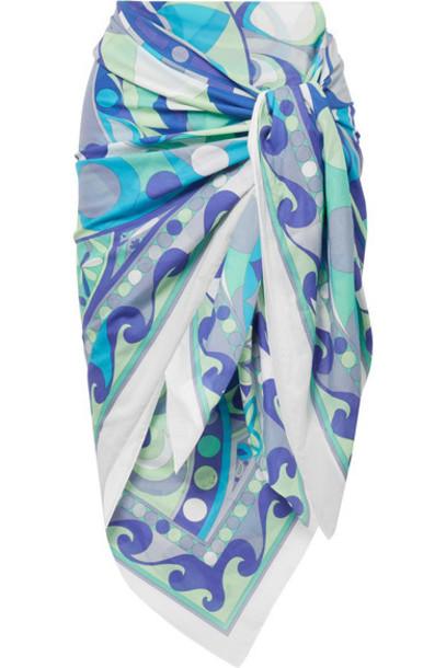 cotton blue swimwear