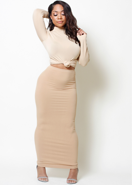 Maxi Skirt/Tube Dress (fits up to plus) – Babes And Felines