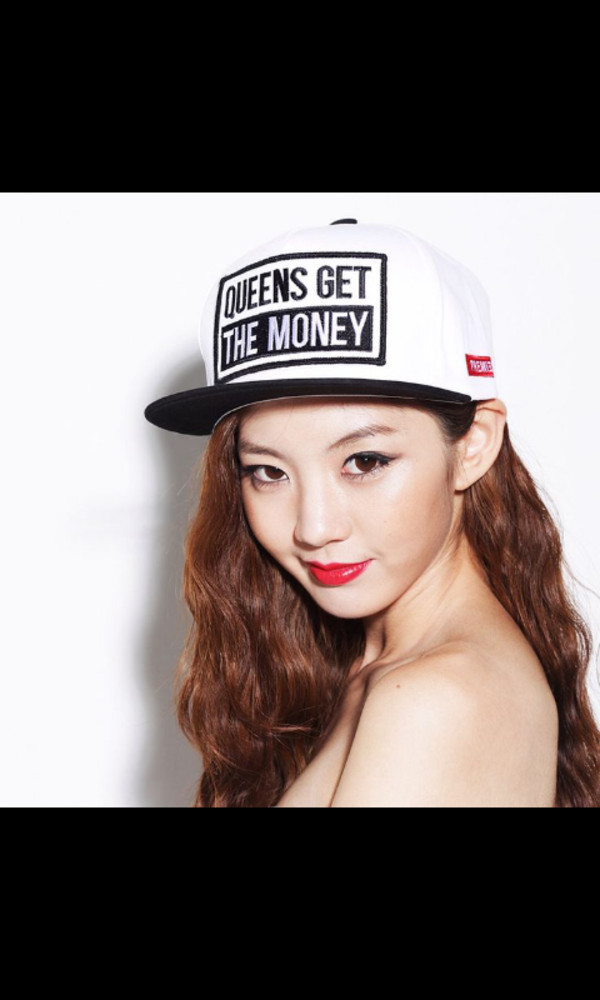 hat korean style queen cool girl style