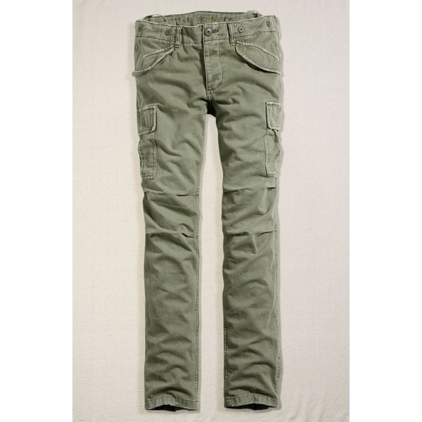 Ae women's slouchy skinny military pant (army green)