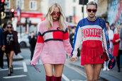 sweater,top,sweatshirt,streetstyle,london fashion week 2017