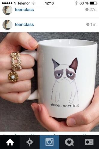 dress coffee grumpy cat grunge sweet cats