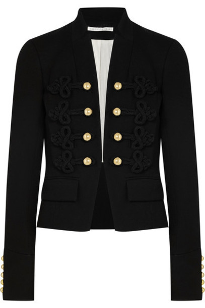 Veronica Beard jacket embroidered black