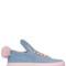 20mm bunny denim sneakers