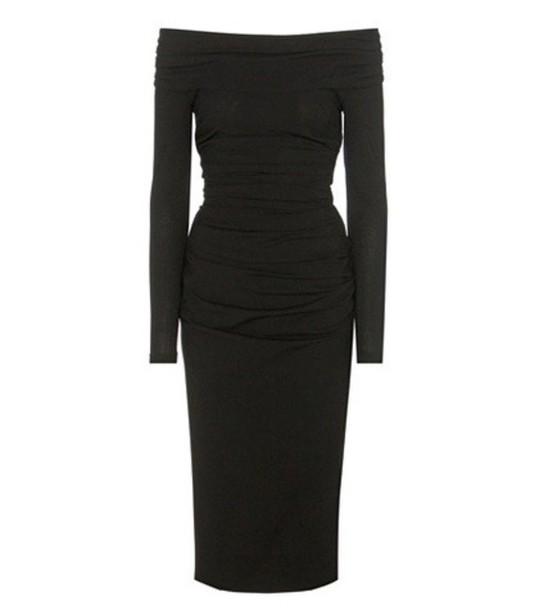 Dolce & Gabbana dress wool black