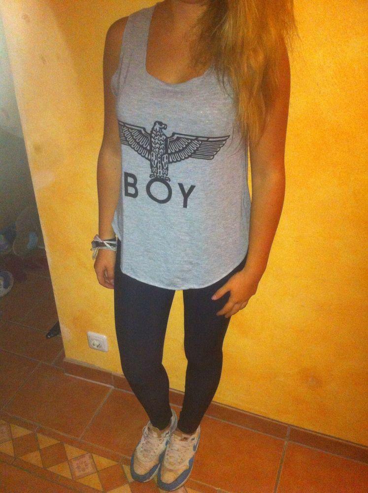 Boy London Girls Blogger Tank Top Gr.: S/M | eBay
