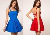 red dress,sweetheart neckline,backless,short dress,dress