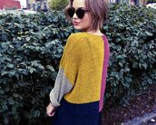 sweater,colorful,sunglasses