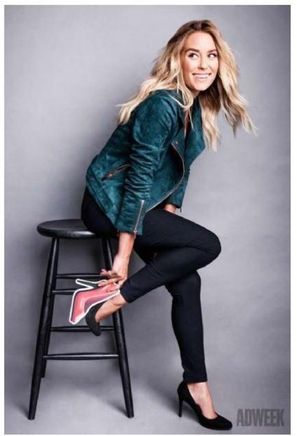 Jacket Biker Jacket Lauren Conrad Pumps Shoes Wheretoget