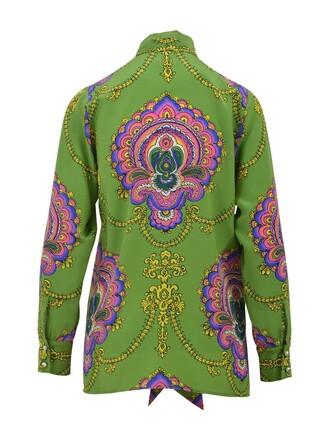 shirt paisley top