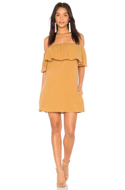 dress mini dress mini mustard