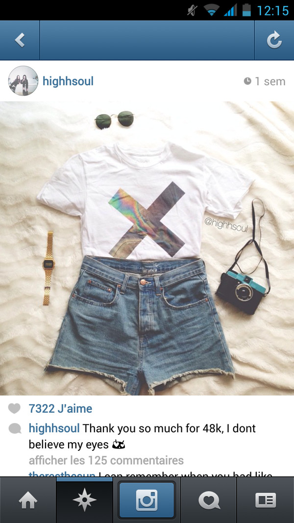 t-shirt white crop tops the xx