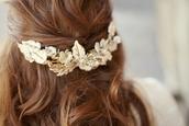 jewels,leaves,creamy,pretty