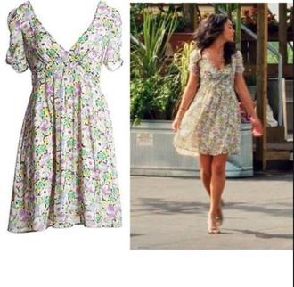dress floral dress gabriella montez high school musical 3