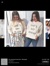 sweater,gossip girl,best friend shirts