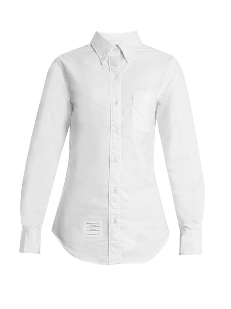 Thom Browne shirt cotton white top