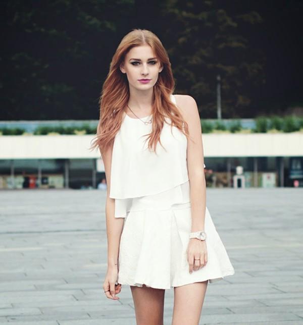 skirt skirt skater skirt summer outfits stylemoi elegant outfit