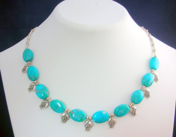 jewels turquoise necklace