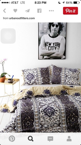 home accessory bedding hipster