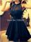 Bleu marine d'image réelle 2014 cheap mousseline vestidos partie formelle robes robes de soirée robe de soirée courte moins de 100 dans robes de soirée de vêtements & accessoires sur aliexpress.com
