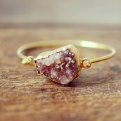 jewels,bracelets,ring,gold,stone ring,stone,boho jewelry,hipster wedding,ring vintage cute,cute,purple,sweet,love,boho,gold ring