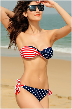 Aliexpress.com : Buy new 2014 free shipping women's bikini set plus size vintage bikinis Mixed colors hit colors Bandage sexy 2 pieces brand swimsuit from Reliable swimsuit dress suppliers on Dora Sweet Shop