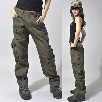 pants khaki pants cargo pants cargo khaki pants baggy pants bottoms pockets