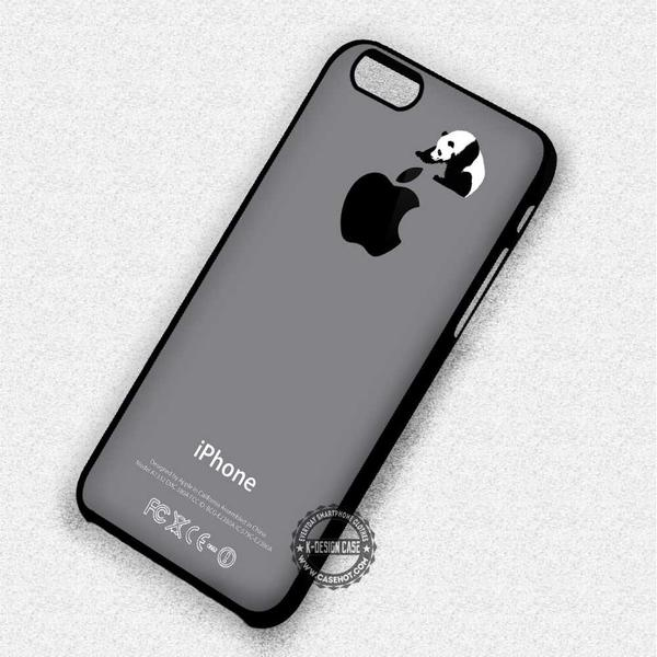 Panda inspired Black and White Logo Apple - iPhone 7 6 5 SE Cases & Covers