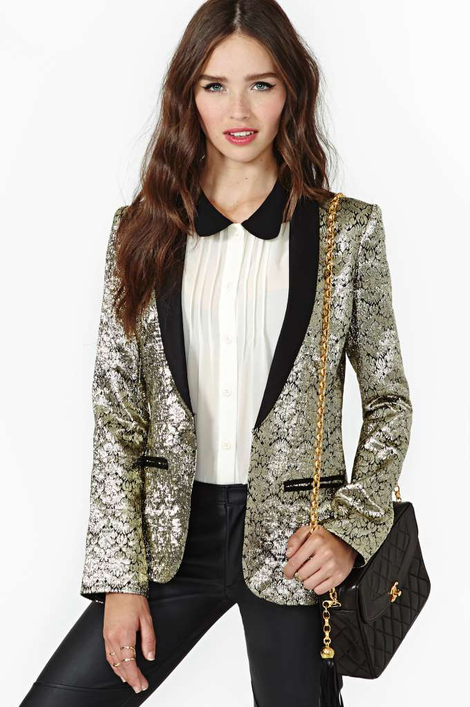 Pleasure & Privilege Blazer in  Clothes at Nasty Gal