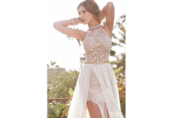 sexy prom dress lace prom dresses prom dress lace wedding dress homecoming dress wedding party dresses see through wedding dresses high-low dresses
