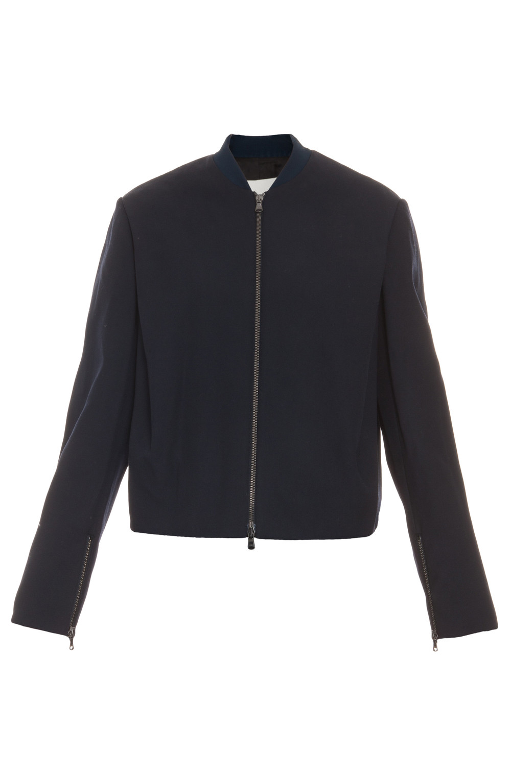 3.1 Phillip Lim - shirt tail bomber jacket - women - Silk ...