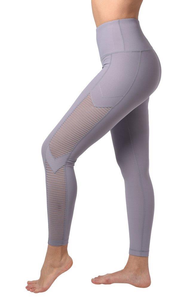 High Waist Novelty Mesh 7/8 Legging