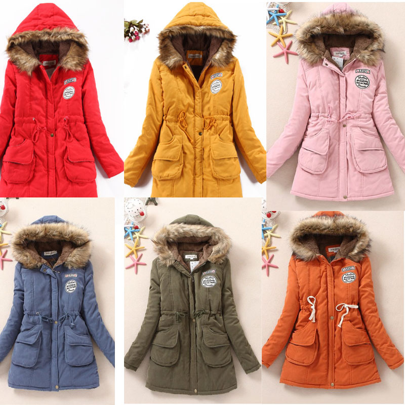 Aliexpress.com : buy xxxl 2014 new winter thickening long coat parka cotton padded clothes women's wear faux wool jacket woman coats big yards 357 from reliable coated banner suppliers on leenpink shop