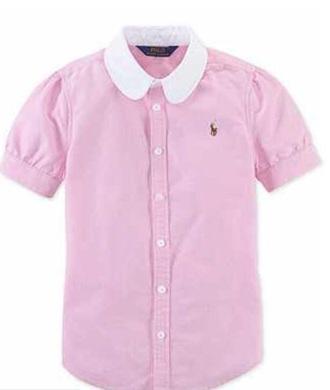shirt lightpink white collar oxford shirt ralph lauren back to school school uniform