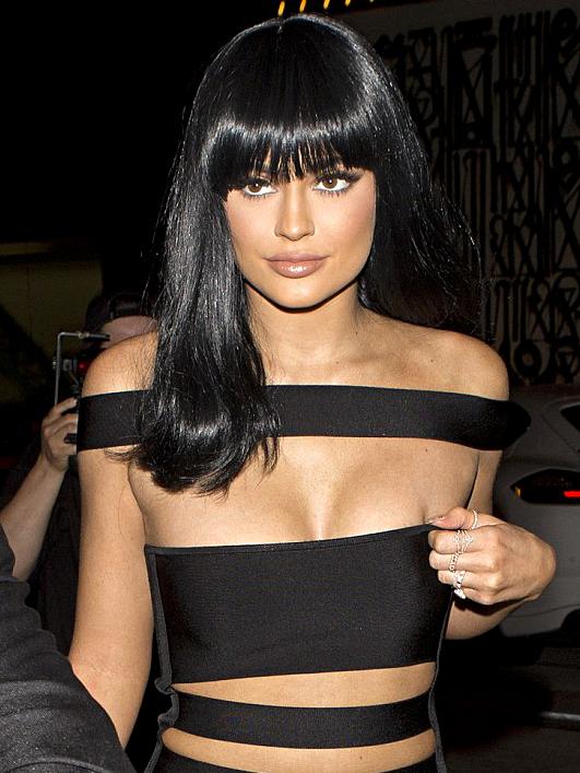 Cutout Panel Bardot Bandage Dress Black