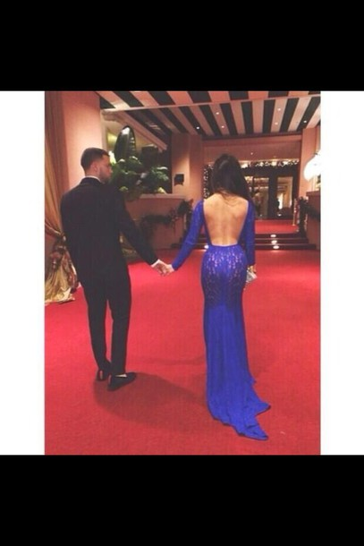 dress lacey backless blue dress royal blue prom gown long blue royal blue prom lace floor length blue dress blue low back prom dress laced long sleeve open back prom dress