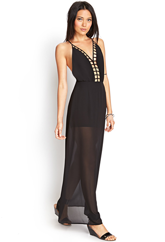 Caged Maxi Dress | FOREVER 21 - 2000073215